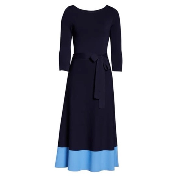 Eliza J Dresses & Skirts - SALE 🔥 Eliza J Waist Tie Colorblock Dress